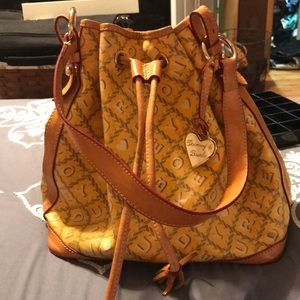 Dooney and bourke draw string purse
